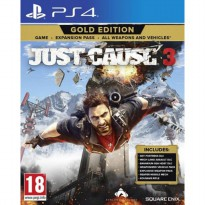 PS4 Just Cause 3 Gold Edition Reg 2 EUR English