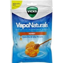 Vicks Vapo Naturals Honey Candy 70g