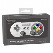 8Bitdo SF30 Pro Controller Switch PC Android iOS SNES COLOR