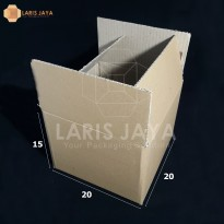 Kardus / Box / Karton / Kotak Packing - 20 x 20 x 15 cm