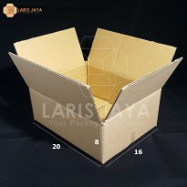 Kardus / Box / Karton / Kotak Packing - 20 x 16 x 8 cm