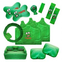 Bantal Mobil Exclusive 8 in 1 Keropi