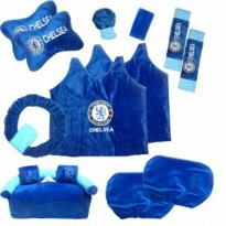 Bantal Mobil Exclusive 8 in 1 Club Chelsea