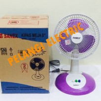 KIPAS ANGIN MEJA / DESK FAN SANEX 8 INCH FD 0888
