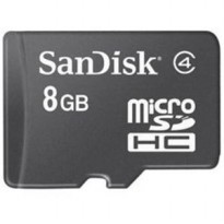 Micro SD SanDisk 8GB Ultra Standard Class 4 | 8 GB SDHC Memory Card