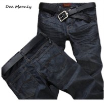 [globalbuy] DEE MOONLY sale men black jeans 2016 mens fashion jeans men big sale autumn cl/4137677