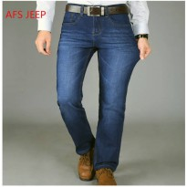 [globalbuy] 2016 New Spring Summer Men Jeans AFS JEEP Brand Jeans With Stretch hombre mcal/4137623