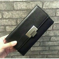 [Charles&Keith] Buckle wallet | Black