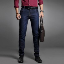[globalbuy] 2016 four seasons mans Business Casual comfortable fashion cotton jeans male s/4137537