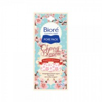 Biore Pore Pack Cherry Blossom Cleansing Strips - 1 Pack ISI 4 Lembar