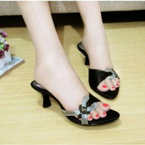 SALE SANDAL PESTA - HEELS SATEEN