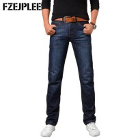 [globalbuy] 2016 New Fashion Jeans Men Stripe Jeans Male Casual Straight Denim Mens Jeans /4137497