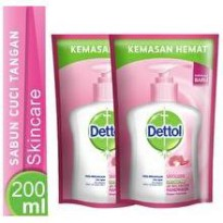 Buy 1 get 1 Dettol Skin Care Sabun Cuci Tangan / Hand Wash 200ml