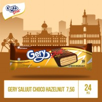 Gery Saluut Choco Hazelnut -7,5g (CSP4HZ) by Garuda Food 1box isi 24pcs