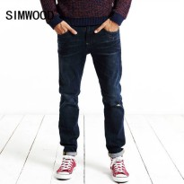 [globalbuy] SIMWOOD 2016 New Autumn Winter Jeans Men Fashion Denim Pants Casual Trousers L/4137398