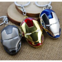 Super Hero The Avengers Iron Man Keychain