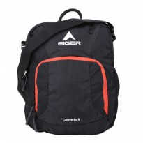 (Termurah) Eiger Folded Shoulder Converto 8L Hitam Orange