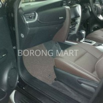 Karpet Mobil Fortuner All New VRZ 2016 + Bagasi Comfort Deluxe Ori