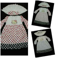 Gamis Panjang Hello Kitty - BRB428 s/d BRB430