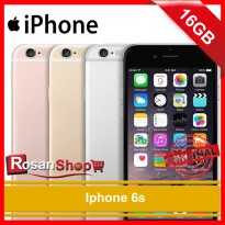 iPhone 6s 16Gb Garansi 1thn Original 100% ( grey , Gold , Silver , Rose )