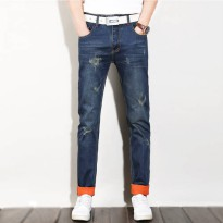 [globalbuy] 2016 ripped jeansmen men,retail & wholesale brand jeans men ,Leisure&Casual pa/4137326