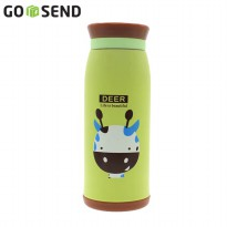 Botol Air Termos Animal Deer 500ml - Hijau