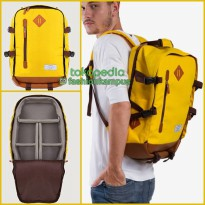 (Termurah) Camera Backpack - Tas Ransel Kamera Bag - Esgotado - Camero P - Yellow