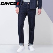 [globalbuy] Dingdi Brand Fashion Long Pants men Jeans Slim Fit Blue Jeans Men Soft Wearing/4137123