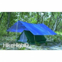 Flysheet Ultralight 3x4 meter, Bivak, Lafuma, Tenda, Fly sheet