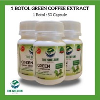 The Shelton Nutrition - 100% Green Coffee Bean Extract New Premium Quality