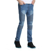 [globalbuy] 2016 Men Jeans Men Skinny Strech Biker Jeans Hiphop Jeans For Men Y2038/4136796