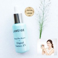 Laneige White Plus Renew Original Essence 7ml Cream Penghilang Jerawat Komedo