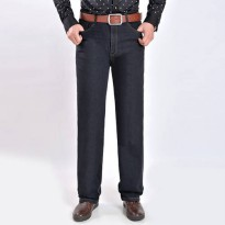 [globalbuy] New Arrival Autumn and Winter Style Jeans Men Pants Tall waist Plus Size 30-40/4136803