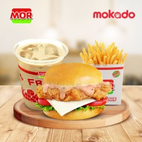 MOR HOTDEAL 2 : 1 CHICBURGER + 1 KENTANG + 1 ICE MILO