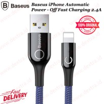 Baseus iPhone Automatic Power - Off Fast Charging 2.4A