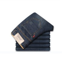 [globalbuy] Sales fiery men popular fashion new jeans mens straight casual pants wash simp/4136460