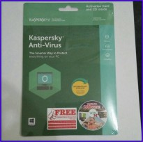 Kaspersky Antivirus 3 User 2018 / KAV 3 2018
