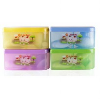 LITTLE BABY TEMPAT BEDAK OVAL/ BABY POWDER CASE CONTAINER