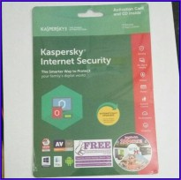 Kaspersky Internet Security 3 User 2018 / KIS 3 2018