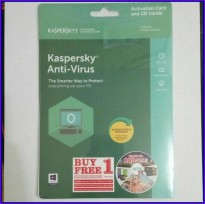 Kaspersky Anti Virus / KAV 2018 - 1Pc 1User / 1 Pc User