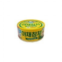 Dongwon vegetable tuna can, tuna kaleng dengan sayuran