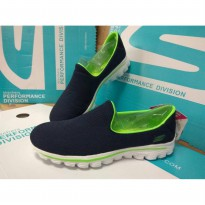SEPATU SKECHERS NEW GO WALK FOR WOMAN (IMPORT) SIZE : 36 S/D 39