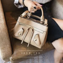 [NEW ARRIVALS] WOMAN FASHION BAGS #ELV89597 IMPORT KOREA WITH LONG STRAP