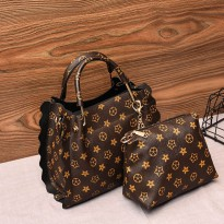 [NEW ARRIVALS] WOMAN FASHION BAG ISI 2 (2IN1) #ELV89305 IMPORT KOREA