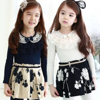 Nanina Kidstore/SC /Dress /usia 2-7thn/ Brand Swallow Peak