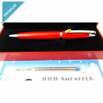 Paket 1 Klik: 1Pcs Sheaffer Ferrari 500 F9504 Bp + 1Pcs Refill Bp