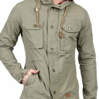 (Termurah) Eiger Jacket Lifestyle Poplyn Uno - Olive