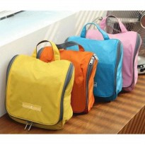 (Termurah) Shower Set Bag Travel Mate Organizer Toilet Bag Tas Kamar Mandi