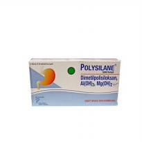 Polysilane Tablet ( 1 blister isi 10 tablet )