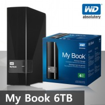 Hardisk WD My Book Personal 6 TB  USB 3.0 and 2.0 compability